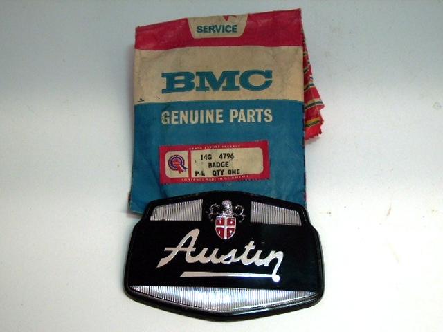 バッジ (フロント) オースチン A40 Austin オースチン ケンブリッジ 純正 未使用 英国車・MINIのレアパーツ エンブレム類(Emblem)