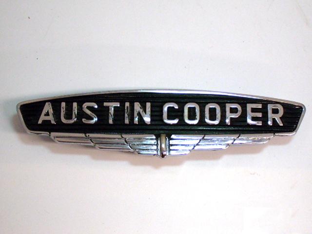 バッジ (フロント) オースチン クーパー MK1 Austin Cooper MK1 純正 未使用 英国車・MINIのレアパーツ エンブレム類(Emblem)