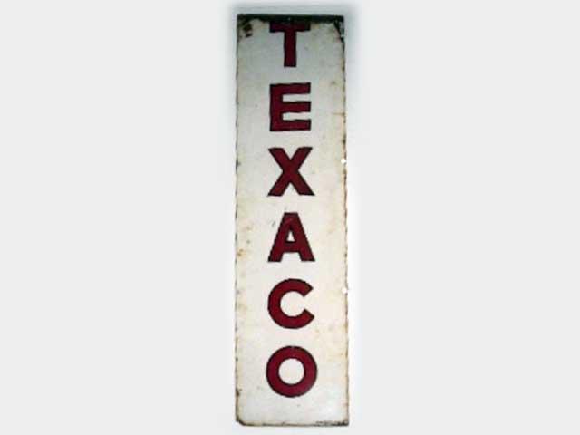 サインボード TEXACO オートモビリア 看板 サインボード(エナメル他)