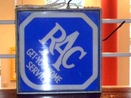サインボード ランタン RAC オートモビリア 看板 サインボード(ネオン)