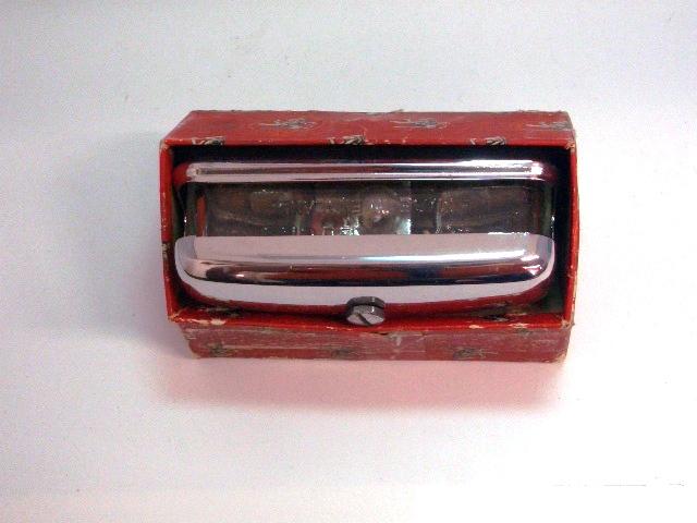 ライセンスランプ ミニ MK1 純正 Lucas ルーカス 未使用 オリジナル ボックス入り 英国車・MINIのレアパーツ ライト類