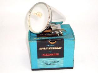 レーシングミラー アルミ Alexander 新品 オリジナルパッケージ入り 英国車・MINIのレアパーツ ボディ&エクステリア(Body/Exterior)