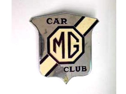 MG CLUB バッジ オートモビリア その他 カー・バッジ/プレート