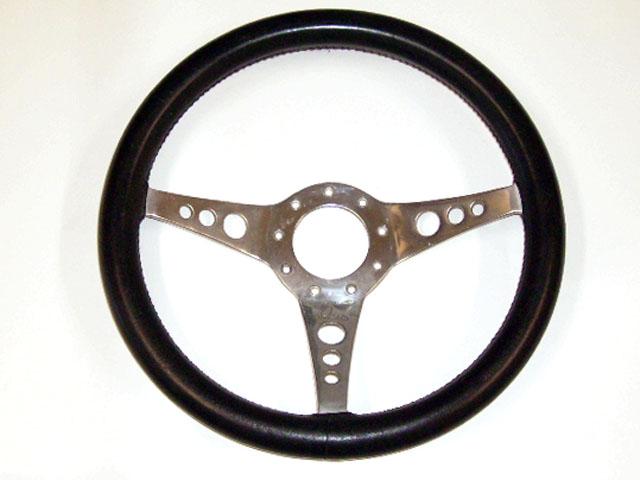 ステアリング レザー モトリタ 13インチ 1960年代 中古品 英国車・MINIのレアパーツ ステアリング