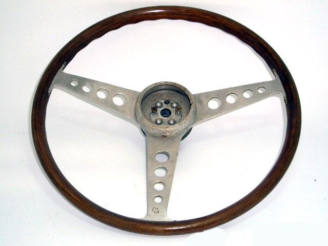 ステアリング レスレストン ミニ  ボス付 MINI MK-1用 中古品 英国車・MINIのレアパーツ ステアリング