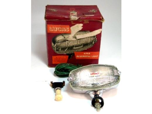 リバースランプAssy Lucas 純正 未使用 箱入 英国車・MINIのレアパーツ ライト類