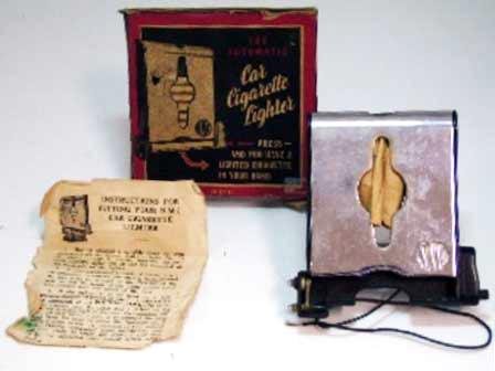 シガレット ライター 新品 オリジナルパッケージ入り 英国車・MINIのレアパーツ 電装関係(ランプ類を除く)