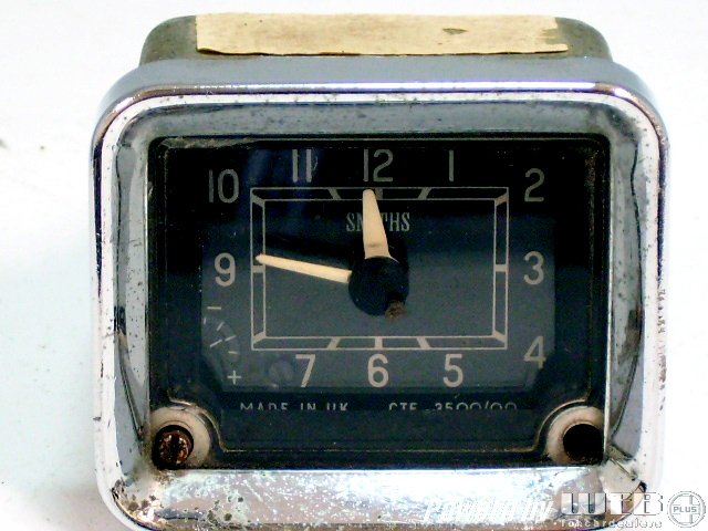 カー・クロック SMITH 中古 ADO16 VandenPlas(バンデンプラス)用 前期型 英国車・MINIのレアパーツ カークロック