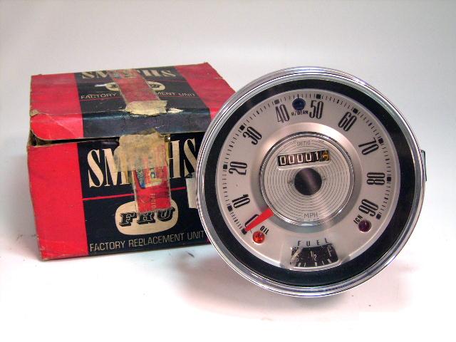 スピードメーター 90MPH 純正 MINI-MK1 Smith スミス製 未使用 英国車・MINIのレアパーツ 計器類