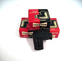 チャンピオン プラグキャップ 純正未使用  WC187 CHAMPION 英国車・MINIのレアパーツ 電装関係(ランプ類を除く)
