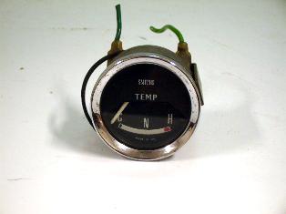 メーター 水温計 MK1 純正 中古 英国車・MINIのレアパーツ 計器類