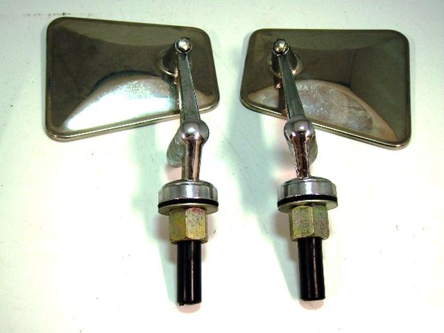 フェンダーミラー TEX ペア 未使用 英国車・MINIのレアパーツ ボディ&エクステリア(Body/Exterior)