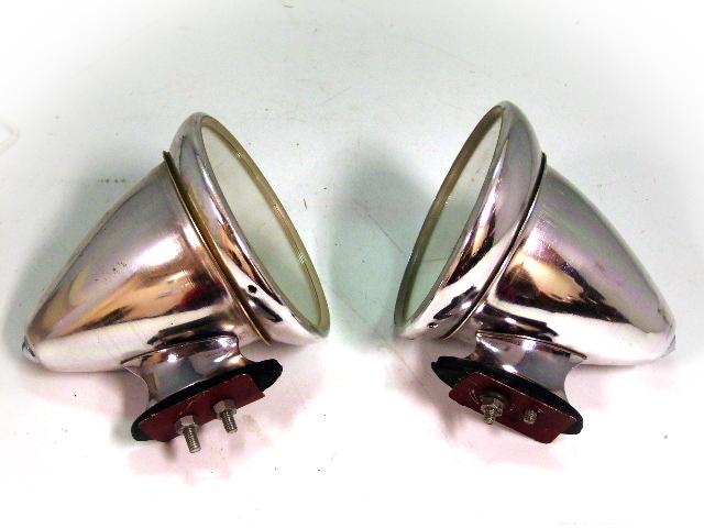 アレキサンダーミラー(1個) アルミ製  純正 未使用 英国車・MINIのレアパーツ ボディ&エクステリア(Body/Exterior)