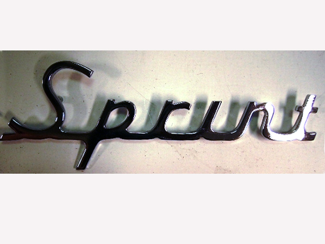 バッジ (リア) Sprint Mars Speed UK 新品 英国車・MINIのレアパーツ エンブレム類(Emblem)