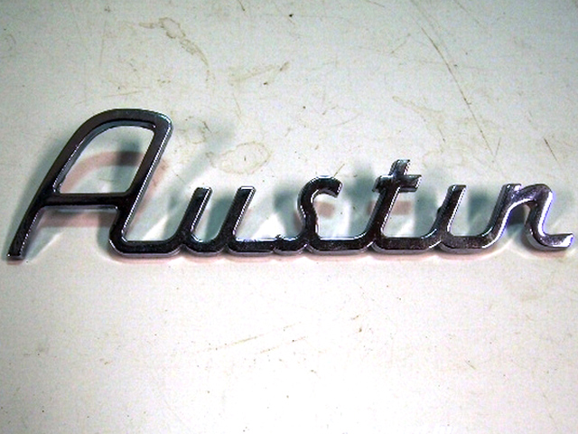 バッジ (リア) Austin 純正 未使用 英国車・MINIのレアパーツ エンブレム類(Emblem)