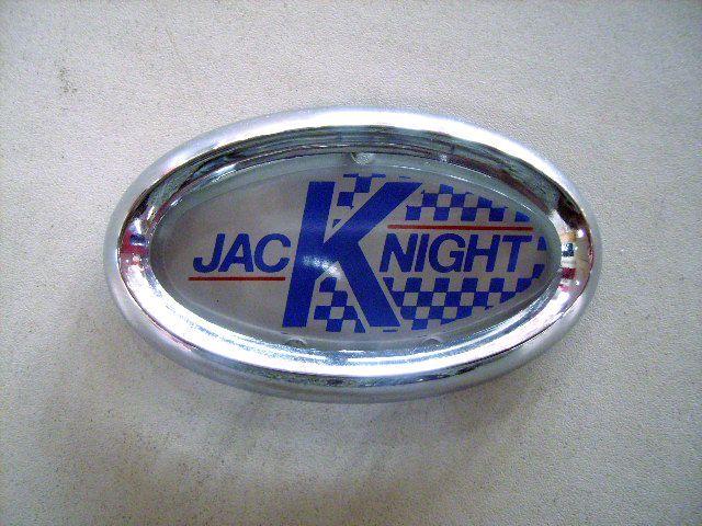 バッジ (フロント) 英国ジャックナイト(JKD)製 オリジナル 純正 ベゼル付き 英国車・MINIのレアパーツ エンブレム類(Emblem)