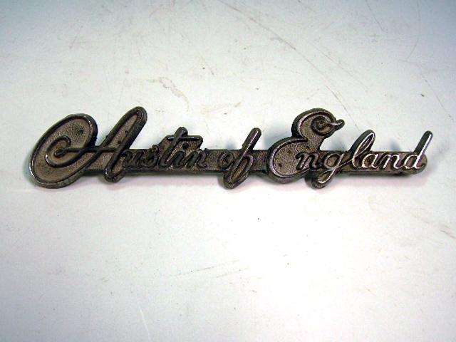 バッジ (リア) Austin of England 中古 英国車・MINIのレアパーツ エンブレム類(Emblem)