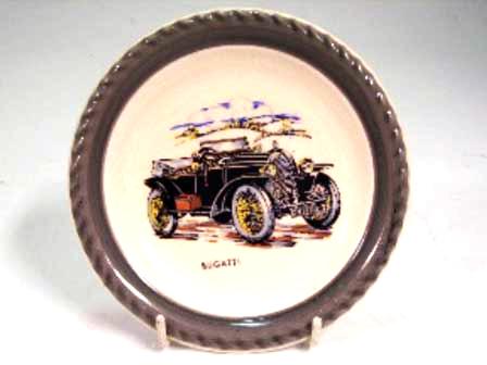 Wade社 Veteran Car シリーズ 絵皿 Bugatti オートモビリア その他 絵皿・カップ・トロフィ