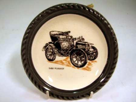 Wade社 Veteran Car シリーズ 絵皿 Baby Peugeot オートモビリア その他 絵皿・カップ・トロフィ