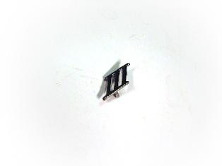 バッジ (リア) III (ライレー&ウーズレイ用) 新品 英国車・MINIのレアパーツ エンブレム類(Emblem)