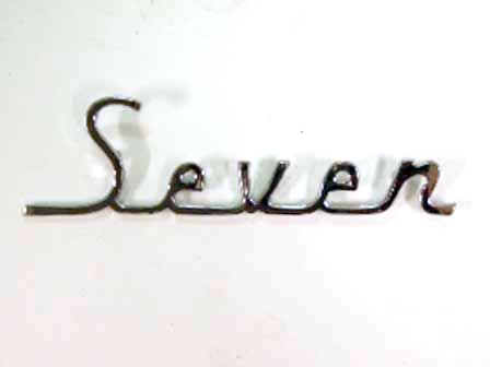 バッジ (リア) オースティン Seven 社外品 新品 英国車・MINIのレアパーツ エンブレム類(Emblem)
