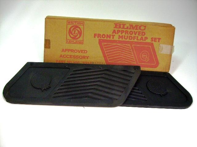 マッド フラップ BMC 純正 未使用 英国車・MINIのレアパーツ ボディ&エクステリア(Body/Exterior)