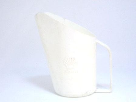 オイルジャグ Shell  プラスティック 白 1リッター オートモビリア オイル オイル・ジャグ