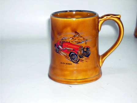 Wade社 Veteran Car シリーズ マグカップ Alfa Romeo オートモビリア その他 絵皿・カップ・トロフィ