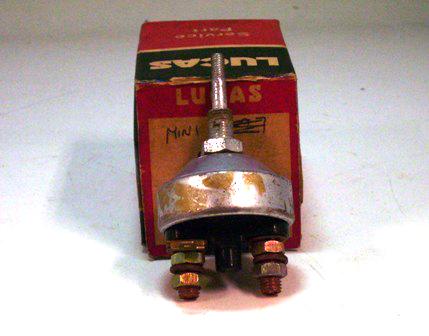 フロアー・スターター スイッチ MK1 純正 未使用 箱つき 英国車・MINIのレアパーツ 電装関係(ランプ類を除く)
