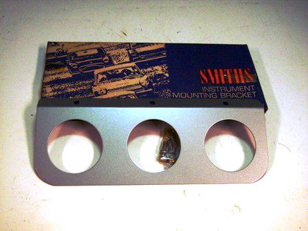 メーター・パネル 新品 3連 Smithスミス 英国車・MINIのレアパーツ 計器類