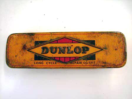 ティン・ボックス Dunlop オートモビリア その他 ティン(缶)