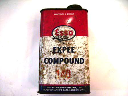 ティン Compaund Esso オートモビリア その他 ティン(缶)