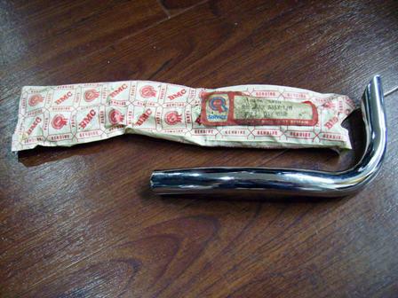 純正 未使用 バンパー・バー 後・左 ALA6920 英国車・MINIのレアパーツ ボディ&エクステリア(Body/Exterior)