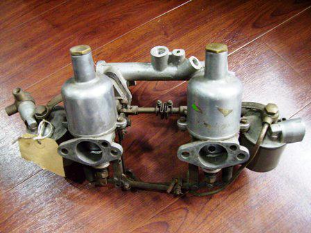 H2 1-1/4キャブレーター AH Sprite MK1 中古 英国車・MINIのレアパーツ フュエル&エキゾート(Fuel/Exhaust)