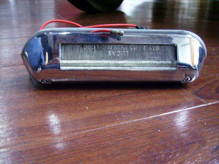 ADO16 バンデンプラス用 ライセンスランプAssy 英国車・MINIのレアパーツ ライト類