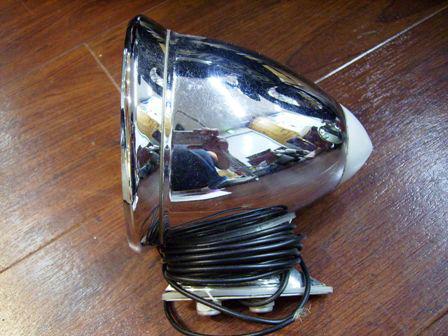 ミラー Styla ニッケル・クローム 電気付 英国車・MINIのレアパーツ ボディ&エクステリア(Body/Exterior)
