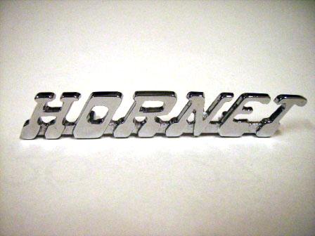 バッジ Hornet リプロ 新品 英国車・MINIのレアパーツ エンブレム類(Emblem)