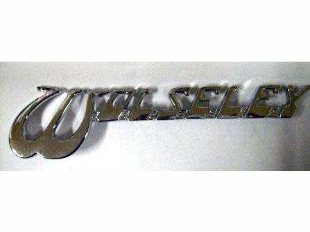 バッジ Wolseley リプロ 新品 英国車・MINIのレアパーツ エンブレム類(Emblem)