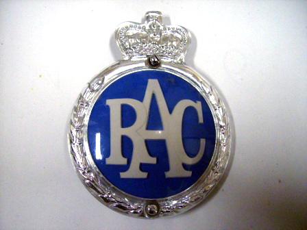 RAC バッジ オールドタイプ 未使用 オートモビリア その他 カー・バッジ/プレート