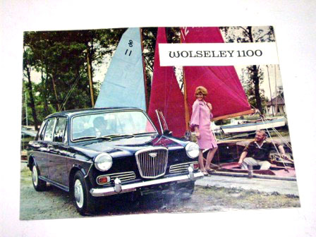 1966y'Wolseley 1100 オリジナル 当時もの オートモビリア 印刷物 カタログ