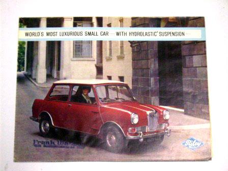 1965y'Riley Elf オリジナル 当時もの オートモビリア 印刷物 カタログ