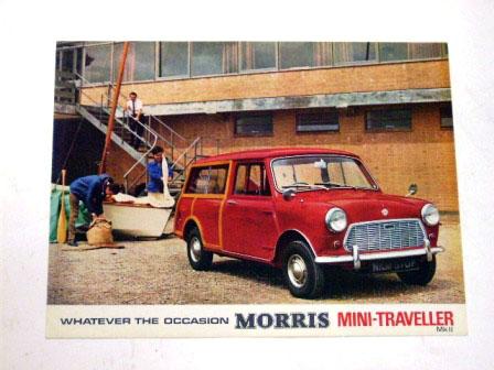 Morris Mini Traveller MK2 オリジナル 当時物 オートモビリア 印刷物 カタログ