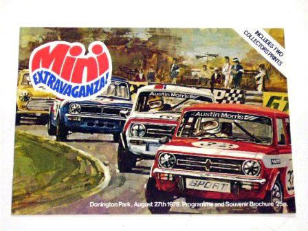 1979Aug27 DoningtonPark プログラム オリジナル 当時物 オートモビリア 印刷物 カタログ