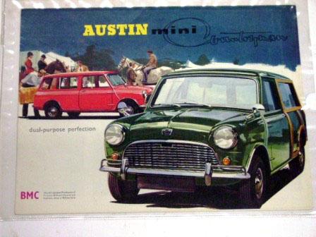オートモビリア 印刷物 カタログ カタログ Austin Mini Countryman  オリジナル 当時物