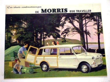 Morris 850 Traveller ドイツ版 オリジナル 当時物 オートモビリア 印刷物 カタログ