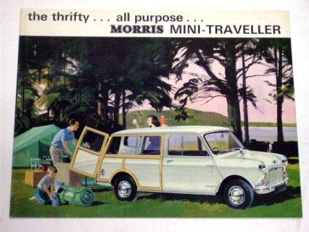 Morris Mini Traveller オリジナル 当時物 オートモビリア 印刷物 カタログ