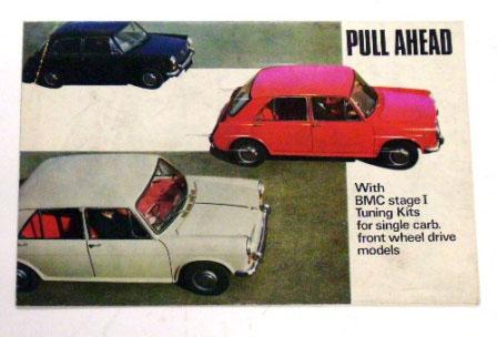 リーフレット Pull Ahead オリジナル 当時物 オートモビリア 印刷物 カタログ