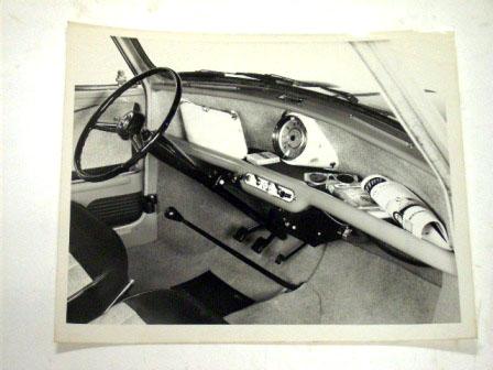 フォト 1959y' Mini プレス用 オリジナル 当時物 オートモビリア 印刷物 ポスター