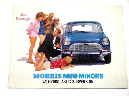 Morris Mini Minors オリジナル 当時物 オートモビリア 印刷物 カタログ