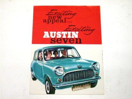 1961y' Austin Seven オリジナル 当時物 オートモビリア 印刷物 カタログ
